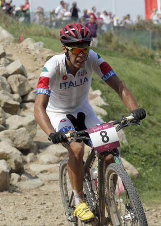 Si tratta della prima medaglia italiana nella mountain bike (Ap)