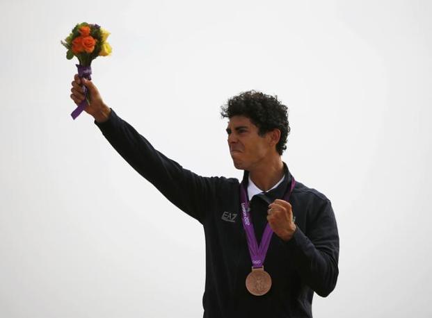 Fontana sul podio (Reuters)