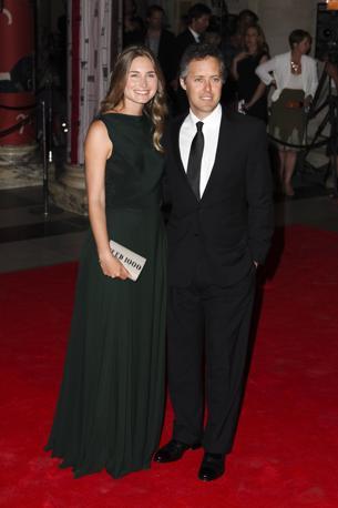 Lauren Bush e David Lauren (Lfi)