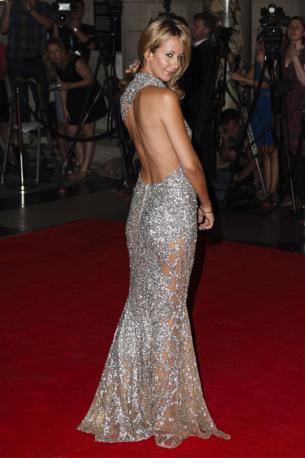 La modella inglese Victoria Hervey  (Lfi)