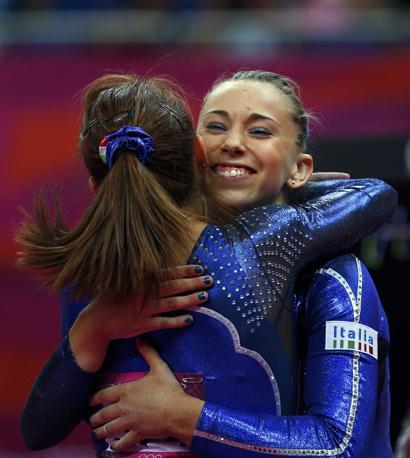 Vanessa Ferrari e Giorgia Campana (Reuters/Snyder)