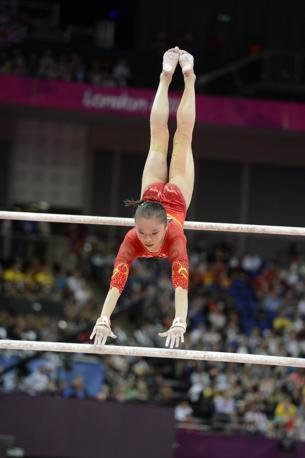 La cinese Jinnan Yao  alle parallele (Usa Today)