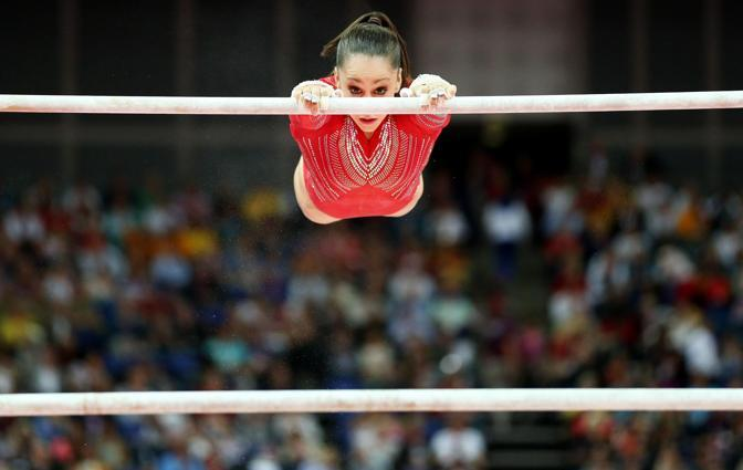 L&#39;americana Jordyn Wieber  (Epa)