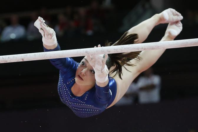 Medaglia di bronzo per Aliya Mustafina, Russia (Afp)