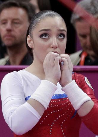 La russa mentre aspetta i risultati (Ap/Jacobson)