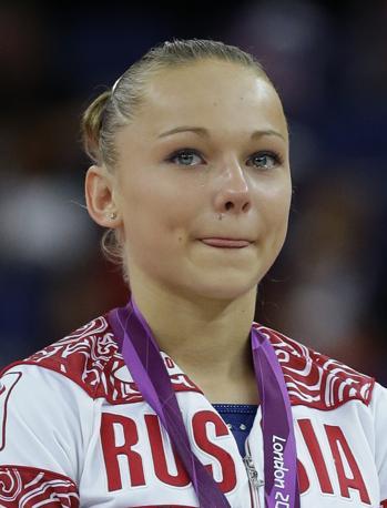 La ginnasta russa Maria Paseka, bronzo al volteggio (Ap)