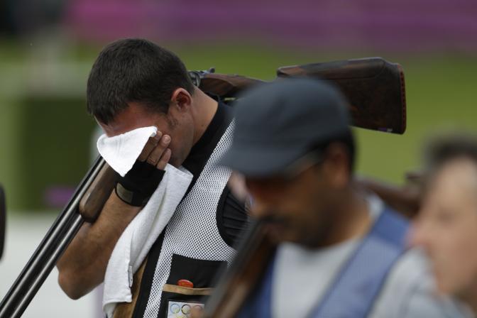 Il croato Giovanni Cernogoraz, oro nella fossa olimpica di tiro (App)