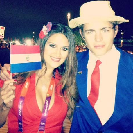 Grande attesa alle Olimpiadi per la bella giavellottista paraguaiana Leryn Franco che debutterà  martedì 7 agosto. In attesa della gara è lei a raccontare come si prepara con una serie di scatti  inseriti sul suo profilo Facebook.