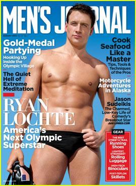 Muscoli in evidenza sulla copertina di Men's Journal