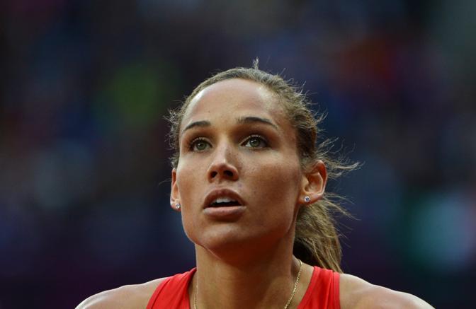 Lolo Jones, 30 anni, ostacolista Usa, si è ribellata durante un programma tv: «Lavoro 6 giorni alla settimana per 12 secondi di gare, ma per tutti sono la Anna Kournikova dell'atletica» (Afp/Morin)