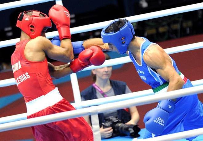 Combattimento serrato, soprattutto nel primo round (Ansa/Ferrari)