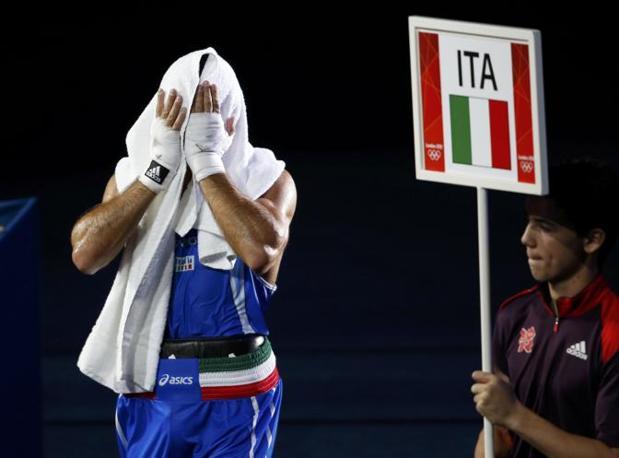 La delusione del giovane Mangiacapre (Reuters/Sezer)
