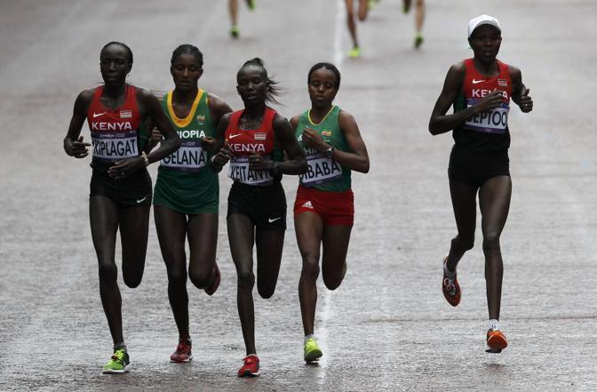 Gruppetto di etiopi e keniane (Reuters)