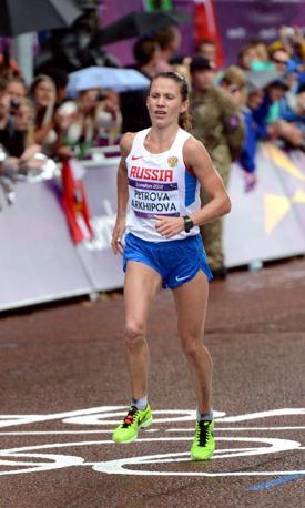 Tatyana Petrova, terza (Epa)