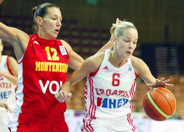Antonija Misura, 24 anni, giocatrice della nazionale femminile croata di basket. Che fine ha fatto la bella atleta definita Miss Olimpiadi? A Londra non ha brillato per i risultati sportivi, ma per il colore dei suoi occhi.  (Epa)