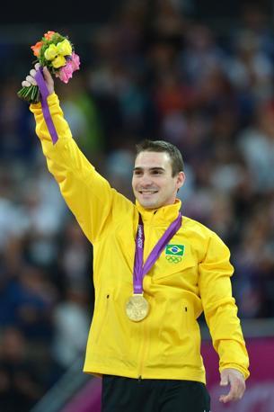 Medaglia d'oro per il brasiliano Arthur Nabarrete Zanetti  con 15.900 punti (Afp/Stansall)