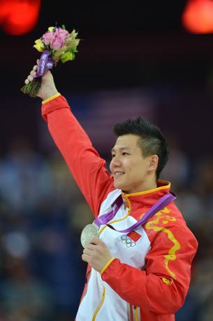 Medaglia d'argento per il cinese Yibing Chen  con 15.800 punti (Afp/Stansall)