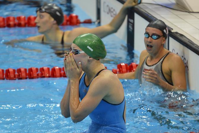 Ruta ha regalato al suo Paese il primo titolo olimpico nel nuoto da quando la Lituania si è resa indipendente dall'Unione Sovietica (Afp)