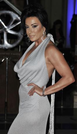 Serata di gala Sport for Peace 2012: ecco Nancy Dell'Olio (LaPresse)