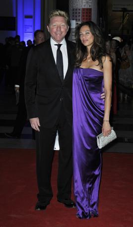 Boris e Lilly Becker (LaPresse)