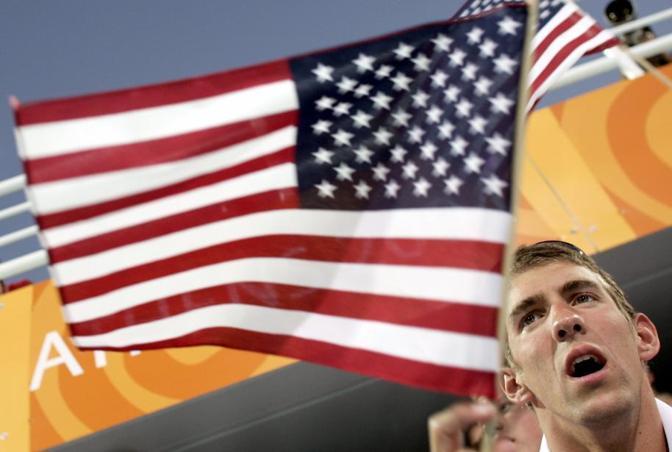 Atene 2004. Sei ori e un bronzo per  Phelps (Reuters)