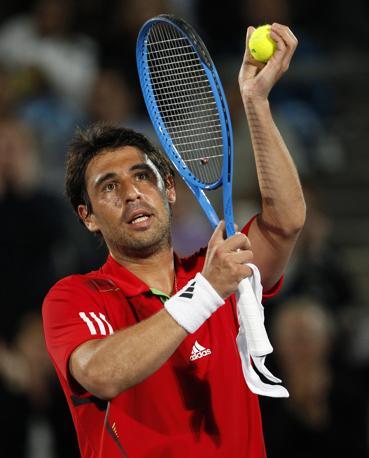 Tennis per Cipro con Marcos Baghdatis (Reuters/Munoz)