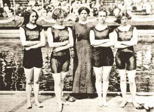 1912 stoccolma - Costumi da bagno del 1900 ...