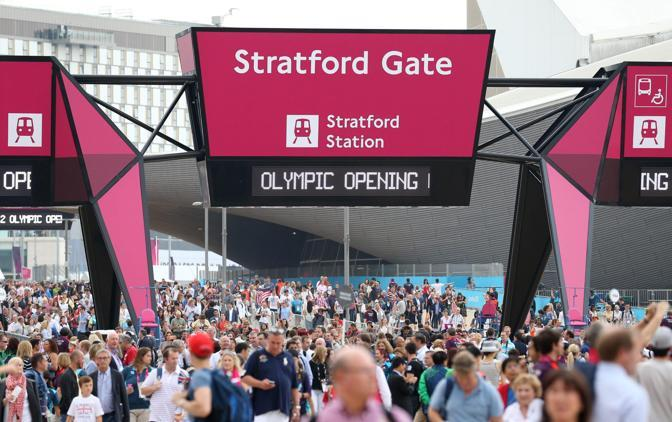 Stratford Gate, una delle entrate nello Stadio dei sogni (Reuters)