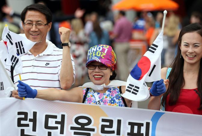 Supporters sudcoreani (Reuters)