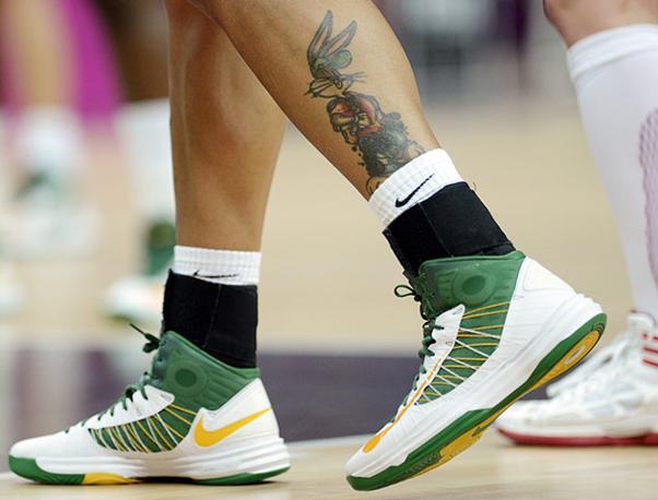 Basket, il brasiliano e il coniglietto (Reuters)