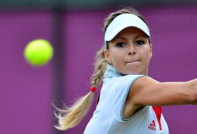25 anni, Maria Kirilenko è il n. 25 del mondo (Afp/Bernetti)