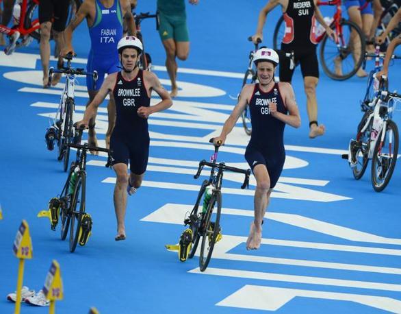 Seconda frazione: 43 km di ciclismo (Christopher)