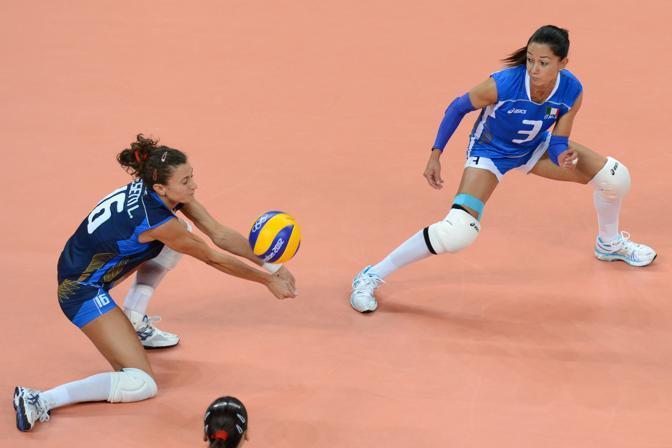 L'Italia ha giocato con grande intensit� anche il secondo set. Le azzurre hanno allungato pi� volte, ma il Giappone non ha mai rallentato il suo ritmo (Afp/Kudryavtsev)