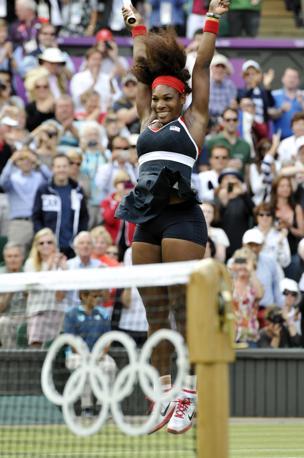 Con la vittoria in singolare, Serena - 31 anni a settembre - ha completato il Golden Slam: vittorie nei quattro principali tornei di tennis del circuito più l'Olimpiade (Mason)