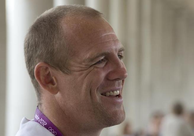 Mike Tindall, ex capitano della nazionale inglese di rugby e marito di Zara (Afp)
