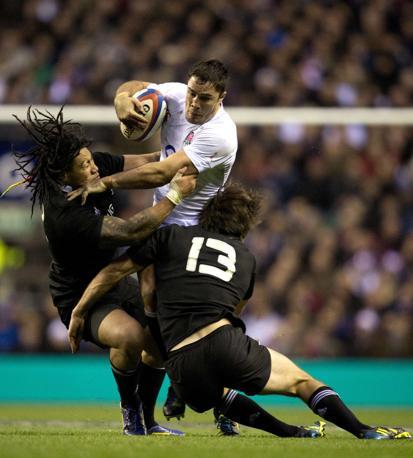 Super Inghilterra, All Blacks schiantati: Nuova Zelanda battuta 38-21 a Twickenham (Afp)