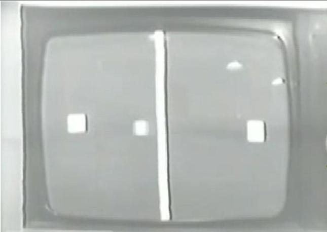 Il primo Video Ping-Pong, realizzato da Ralph H. Baer nel 1969