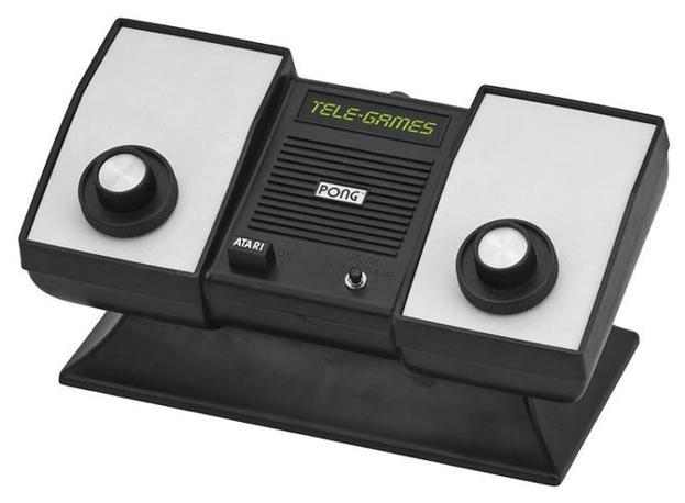 La prima versione casalinga di Pong, uscita negli Stati Uniti nel 1975