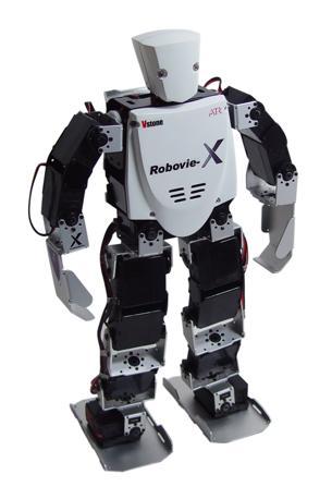 Robovie-X (35 cm) è un piccolo robot umanoide utilizzato allo IAS Lab di Padova per ricerche sulla robotica umanoide. Prodotto in Giappone da VStone e distribuito in Italia da IT Robotics