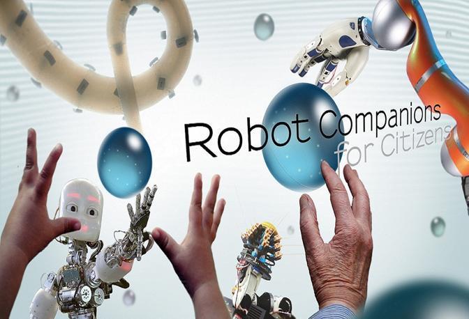 Progetto RobCom, il manifesto della partecipazione italiana che vede come capofila l'IIT di Genova e il Sant'Anna di Pisa