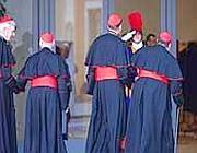 L'arrivo dei cardinali