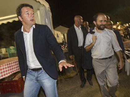 Matteo Renzi e Matteo Orfini (Benvegn� e Guaitoli)
