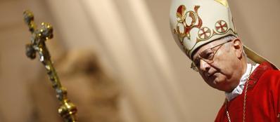 L'arcivescovo Zollitsch, capo dei porporati tedeschi e arcivescovo di Friburgo (Reuters)