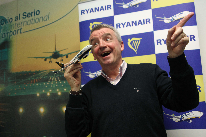 L'amministratore delegato di Ryanair Michael O'Leary