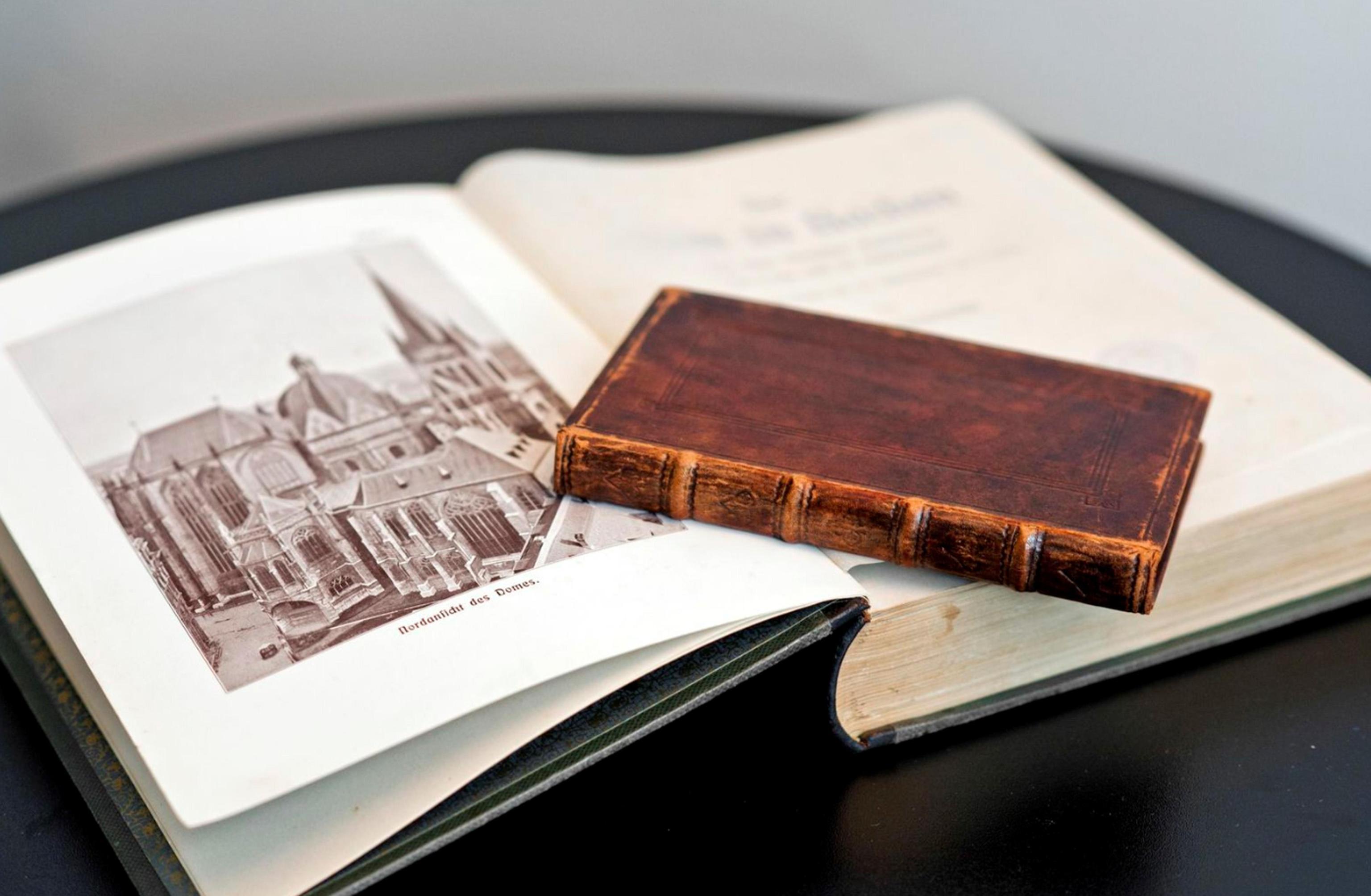 I volumi donati da Schulz al Santo Padre