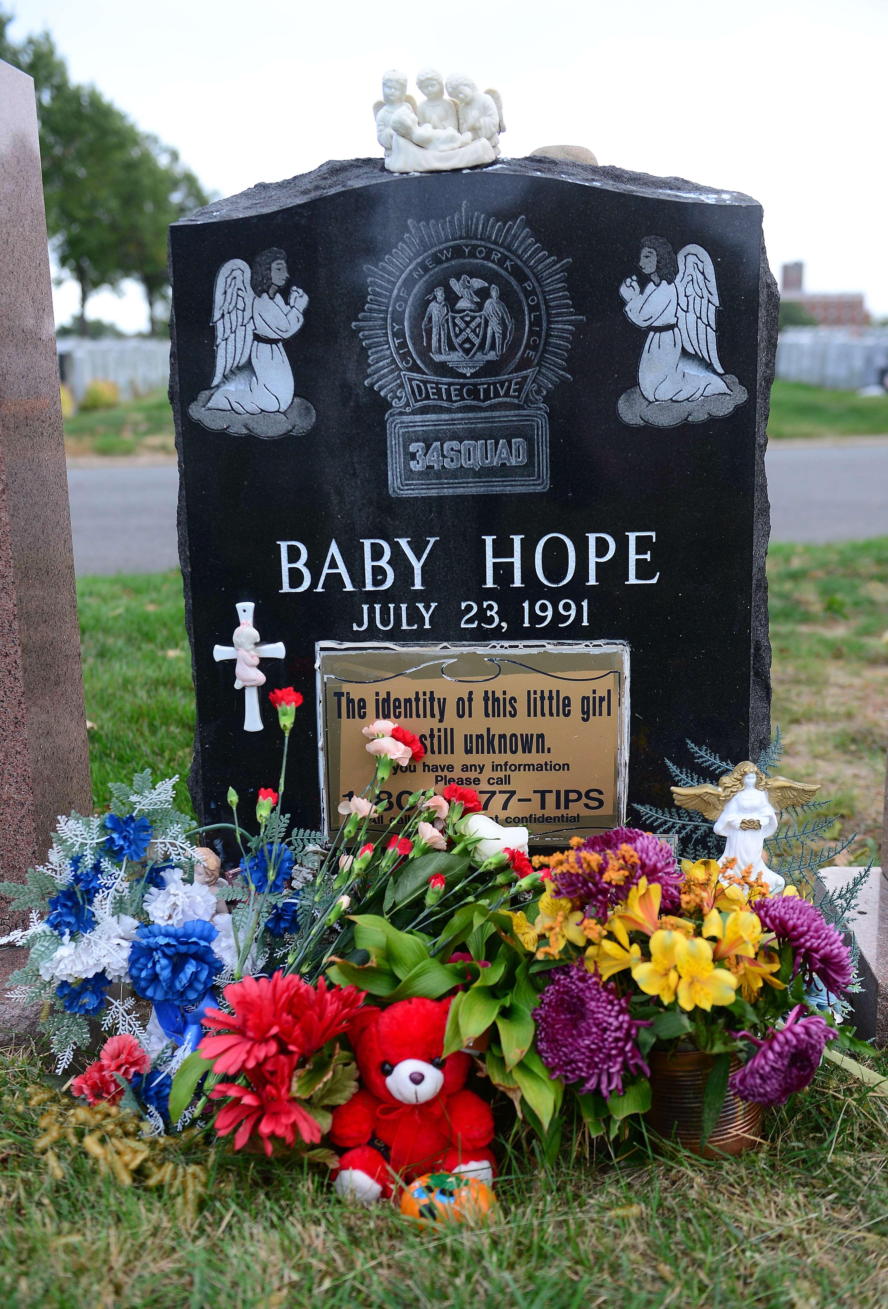 La tomba di Baby Hope (Afp)