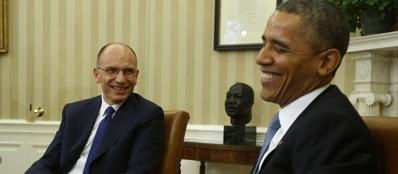Obama-Letta, scambio di cortesie (Reuters)