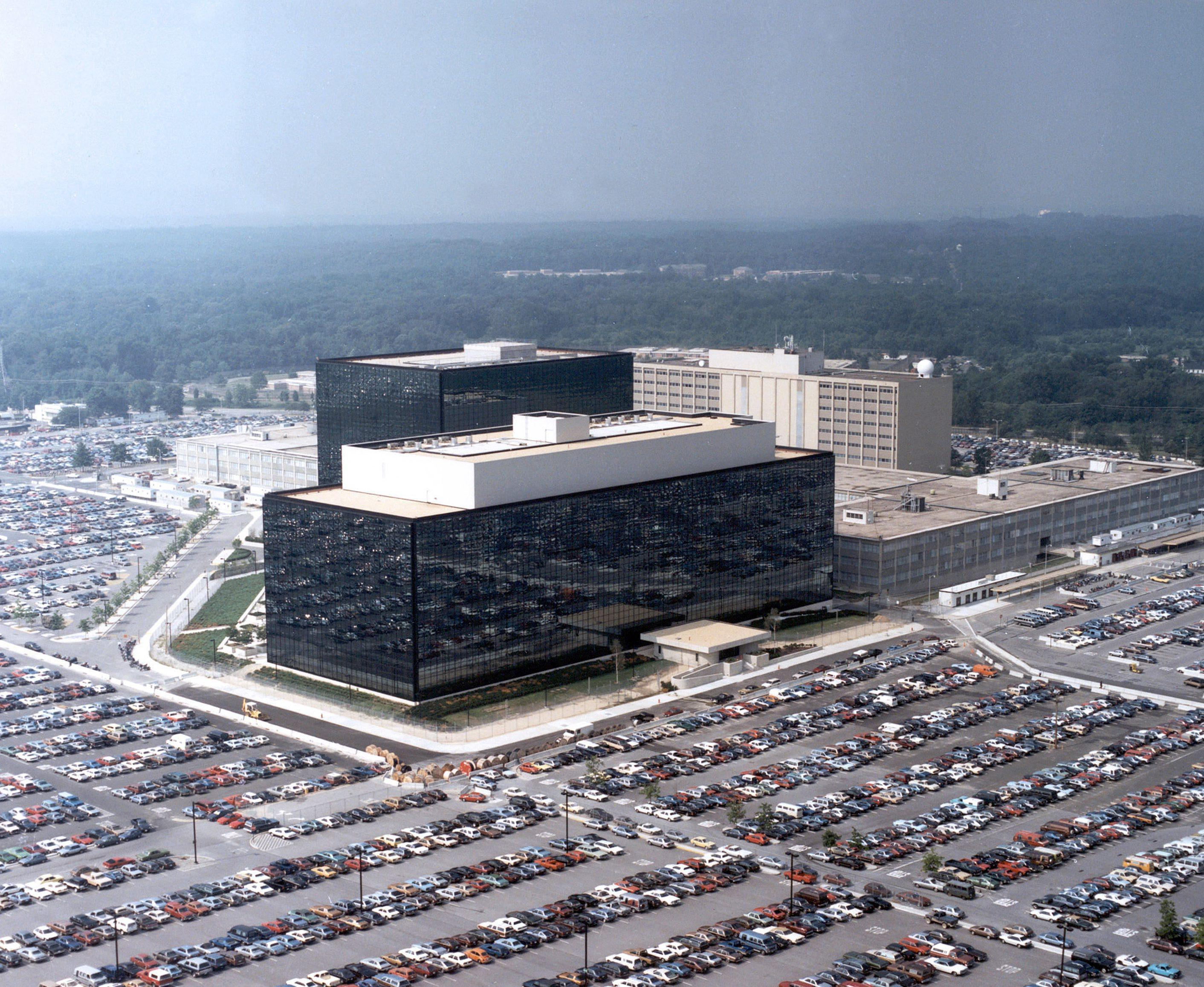 La sede della National Security Agency a Washington (Epa)
