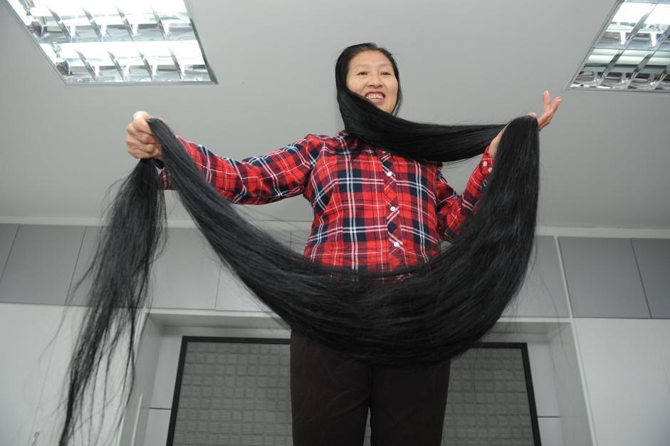 I capelli più lunghi del mondo