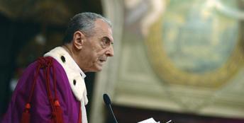 Pio Vito Pinto, dal 2012 alla guida della Sacra Rota (Ansa)